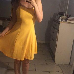 SHEIN yellow dress great price